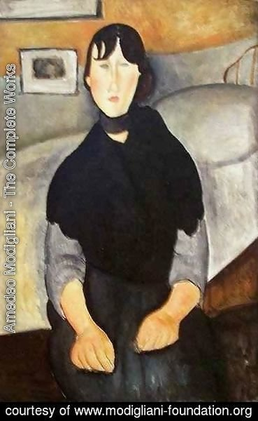 Amedeo Modigliani - Young Woman of the People 2