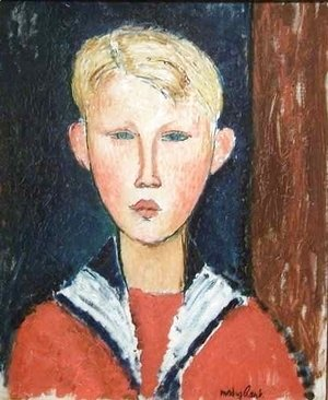 Amedeo Modigliani - The Blue eyed Boy 2