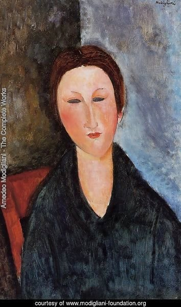 Bust of a Young Woman (aka Mademoiselle Marthe) 1916 1917