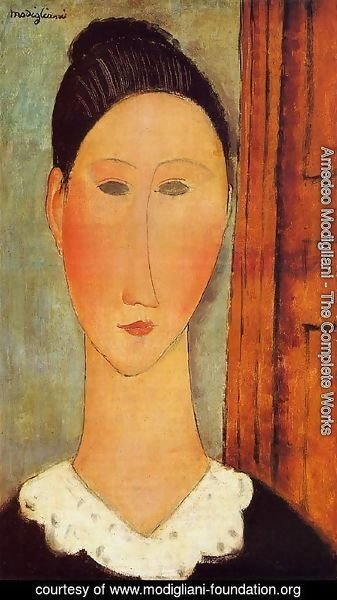 Amedeo Modigliani - Head 1915 2