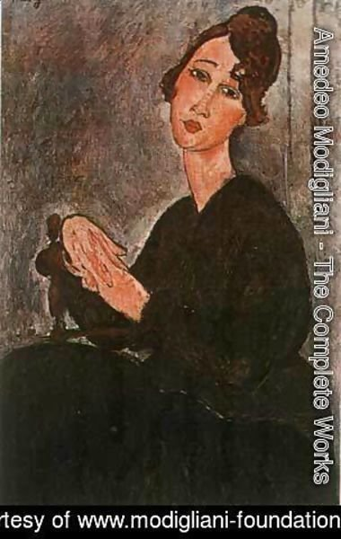 Amedeo Modigliani - Madam Hayden