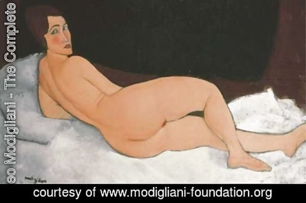 Amedeo Modigliani - Nu couche