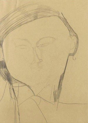 Amedeo Modigliani - Portrait de Jacques Lipchitz