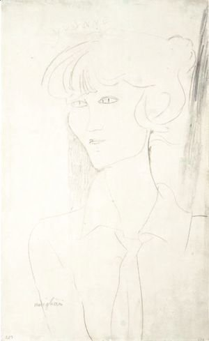 Amedeo Modigliani - Portrait D'Yvonne