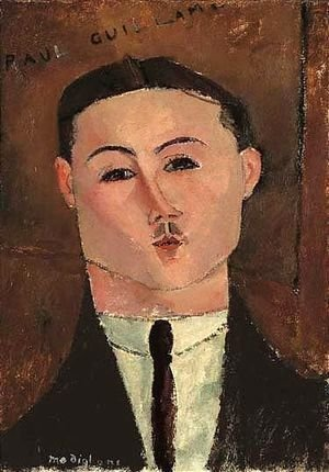 Amedeo Modigliani - Paul Guillaume 2