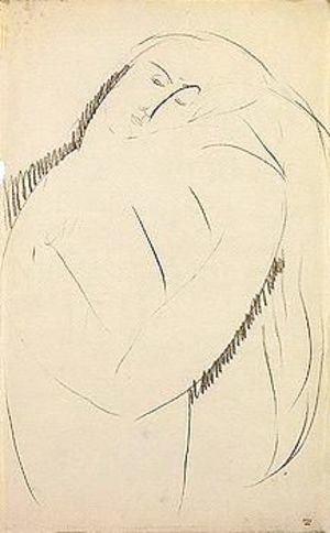 Amedeo Modigliani - Portrait of a woman 4