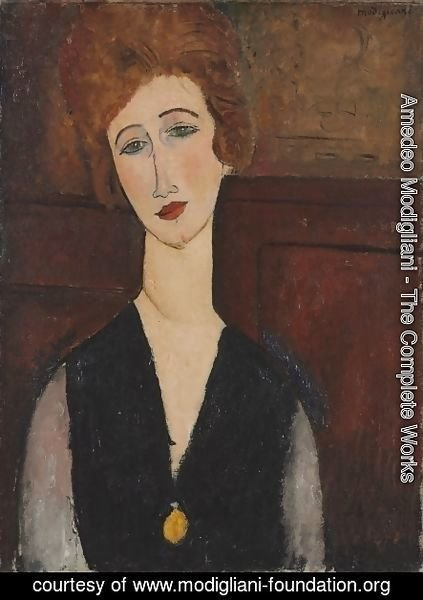 Amedeo Modigliani - Portait of a Woman