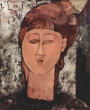 Amedeo Modigliani - L'enfant gras