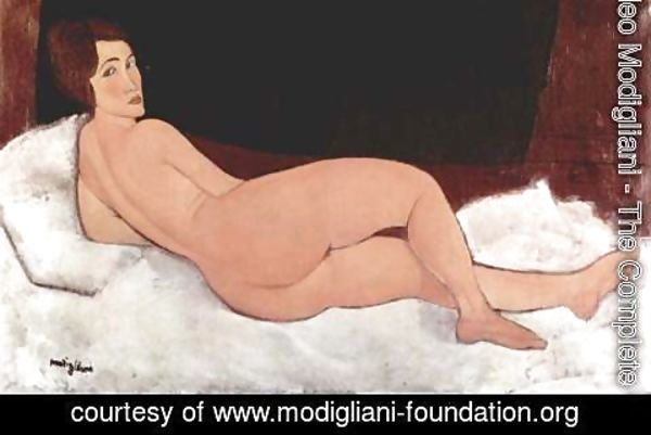 Amedeo Modigliani - Reclining Nude 4