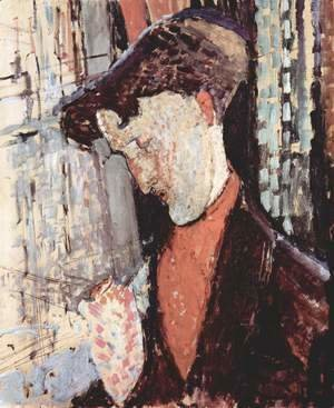 Amedeo Modigliani - Portrait of Frank Burty Haviland 2