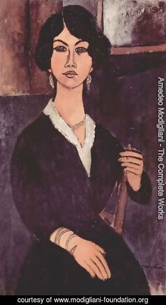 Amedeo Modigliani - Seated Algerian Almaiisa