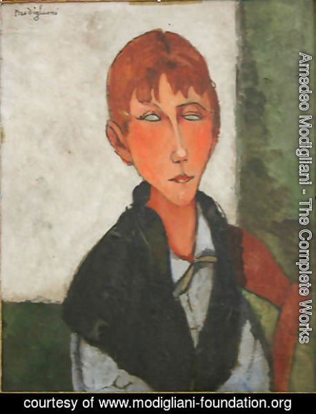 Amedeo Modigliani - The Mistress