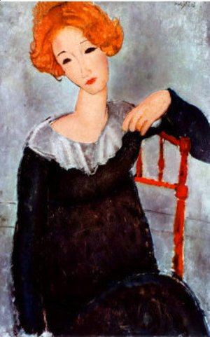 Amedeo Modigliani - Women with Red Hair