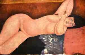 Amedeo Modigliani - Reclining nude 5