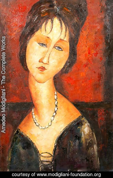 Amedeo Modigliani - Stone Head