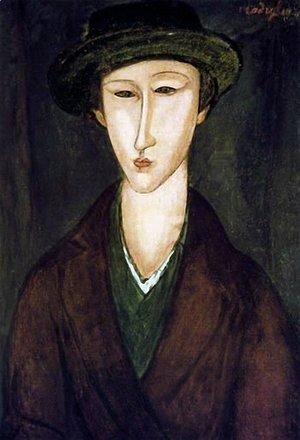 Amedeo Modigliani - Portrait of Marevna