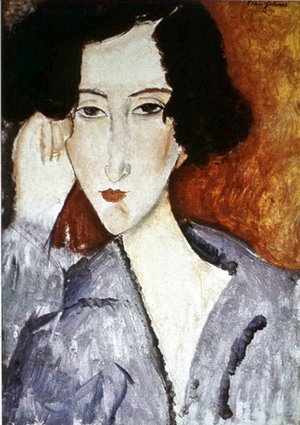 Amedeo Modigliani - Portrait of Madame Rachele Osterlind