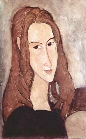 Amedeo Modigliani - Portrait of Jeanne Hebuterne 2