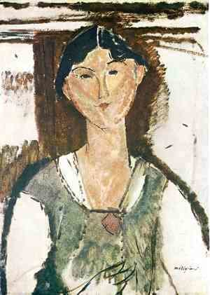 Amedeo Modigliani - Beatrice Hastings 2