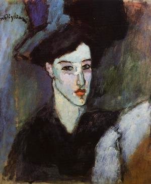 Amedeo Modigliani - The Jewess