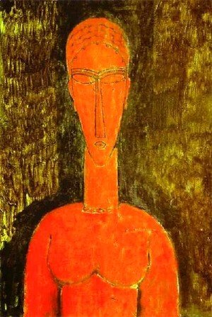 Amedeo Modigliani - The Red Bust