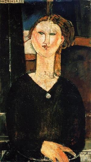 Amedeo Modigliani - Antonia