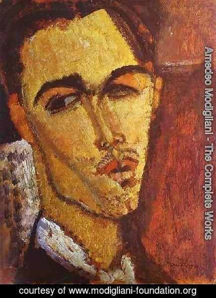 Amedeo Modigliani - Portrait Of The Spanish Painter Celso Lagar