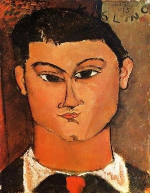Amedeo Modigliani - Portrait Of The Painter Moise Kisling