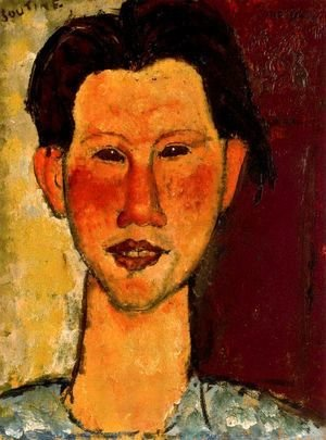 Portrait Of Chaim Soutine