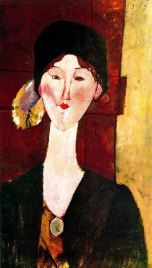 Amedeo Modigliani - Beatris Hastings