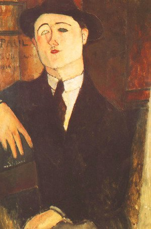 Amedeo Modigliani - Portrait Of The Art Dealer Paul Guillaume