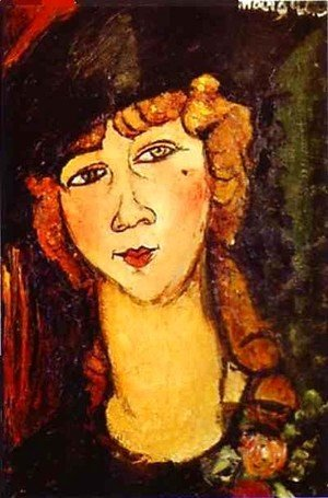 Amedeo Modigliani - Renee The Blonde