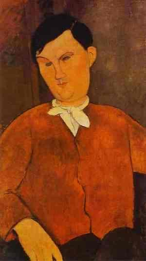 Amedeo Modigliani - Monsieur Deleu