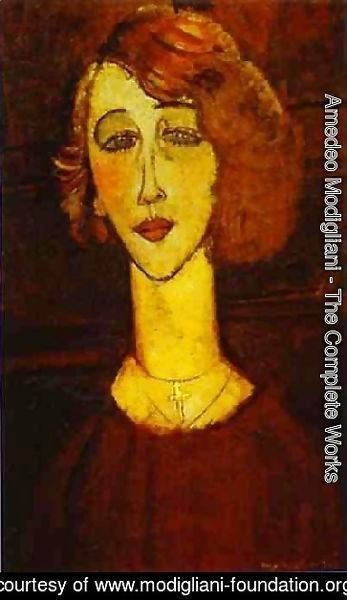 Amedeo Modigliani - Lalotte