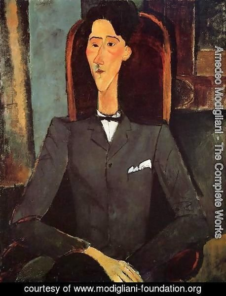 Amedeo Modigliani - Portrait Of Jean Cocteau