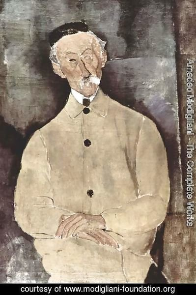 Amedeo Modigliani - Monsieur Lepoutre
