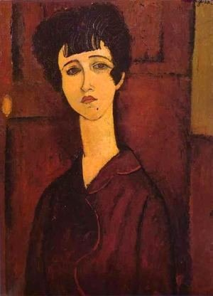 Amedeo Modigliani - Portrait Of A Girl   Victoria