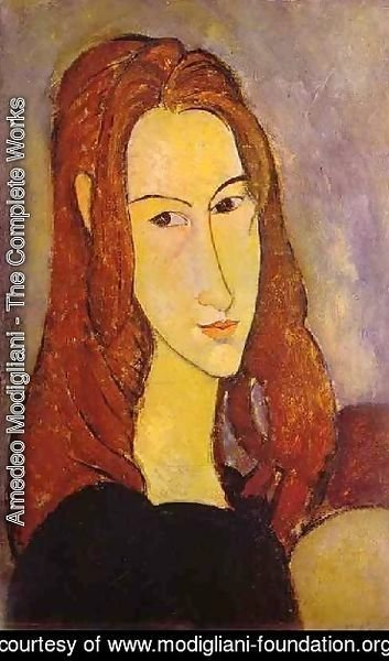 Amedeo Modigliani - Portrait Of A Girl