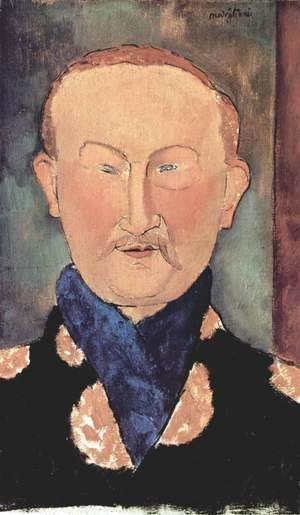 Amedeo Modigliani - Portrait Of Leon Bakst