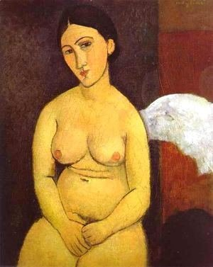 Amedeo Modigliani - Seated Nude I