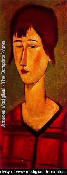 Amedeo Modigliani - Marcelle