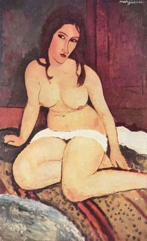 Amedeo Modigliani - Seated Nude Ii