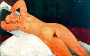 Amedeo Modigliani - Nude With Necklace