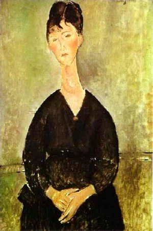 Amedeo Modigliani - Cafe Singer