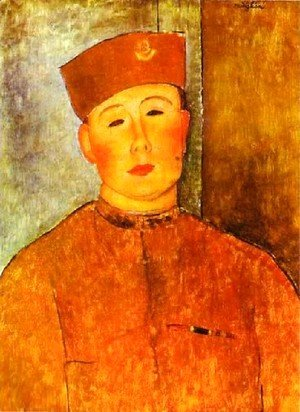 Amedeo Modigliani - The  Zouave