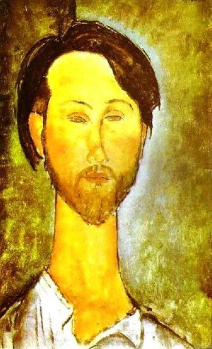 Amedeo Modigliani - Portrait Of The Polish Poet And Art Dealer Leopold Zborovski