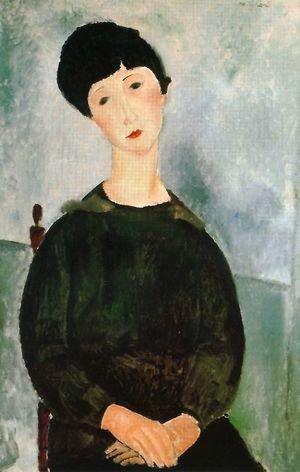 Amedeo Modigliani - Young Girl