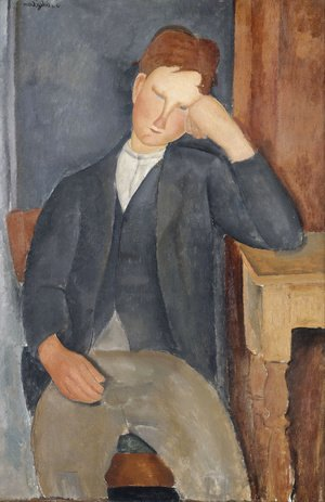 Amedeo Modigliani - The Young Apprentice
