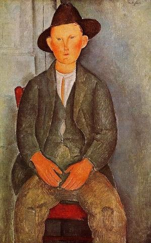 Amedeo Modigliani - The Little Peasant