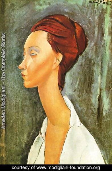 Amedeo Modigliani - Portrait Of Lunia Czechovska